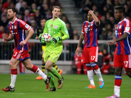 Neuer, Xabi Alonso, Jerome Boateng, David Alaba