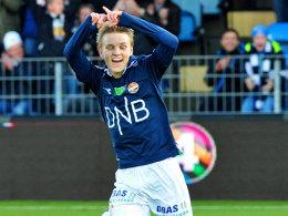 Einer für die Bayern? Der 15-jährige Norweger Martin Ödegaard.