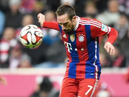 Bayerns Dribbelk�nstler Franck Ribery.
