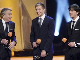 Christoph Kramer bei der Wahl zum Sportler des Jahres 2014