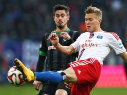 Neuer Anlauf: Die Hinserie lief für Hamburgs Matthias Ostrzolek alles andere als optimal.