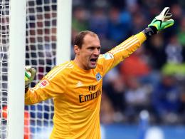 Hütet weiter bis 2017 den Kasten des Hamburger SV: Jaroslav Drobny.