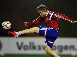 Fühlt sich gut: Bastian Schweinsteiger.