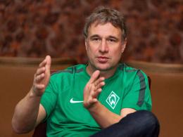 """""""Die Marke Werder wäre in der 2. Liga nicht mehr so viel wert"""": Bremens neuer Boss Marco Bode."""