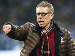 Fordert von seinen Spielern Flexibilität in der Systemfrage: Kölns Trainer Peter Stöger.