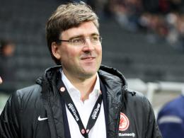 Mahnt Geduld an: Eintracht-Vorstand Axel Hellmann.