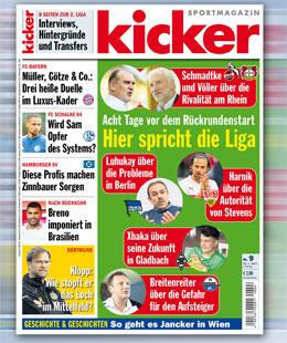 kicker, Ausgabe 9/15
