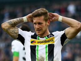 Verpasst den Rückrundenstart: Gladbachs Flügelspieler André Hahn muss Gips tragen.