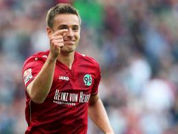 Lang ersehntes Comeback nach Syndesmoseriss: Hannovers Artur Sobiech.