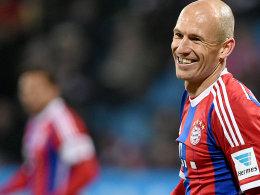 Doppelpack zum Geburtstag: Arjen Robben.