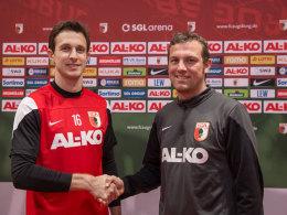 Markus Weinzierl und Christoph Janker