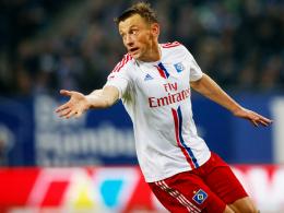 Rückschlag: Auch Neuzugang Ivica Olic konnte Hamburgs Niederlage gegen Köln nicht verhindern.