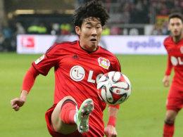 Will gleich wieder ran: Leverkusens Heung-Min Son verspürt keinen Verschleiß nach dem Asien-Cup mit Südkorea.