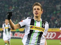 Goalgetter: Patrick Herrmann schoss Gladbach erneut zum Sieg, bleibt aber kritisch.