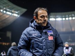 Muss nach zweieinhalb Jahren seinen Hut nehmen: Hertha-Coach Jos Luhukay.