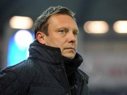 Fordert von seinem Team mehr Konzentration zu Beginn: Paderborns Trainer André Breitenreiter.