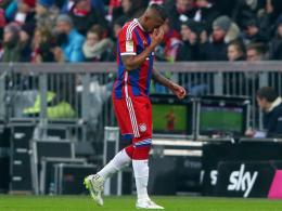 Sperre um ein Spiel reduziert: Jerome Boateng kann bei den Bayern schon bald wieder eingreifen.
