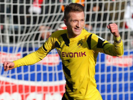Jubelt weiter für den BVB: Marco Reus hat in Dortmund verlängert.