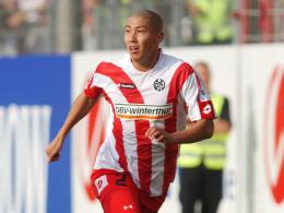 Ein Jahr beim FSV: 2006 wechselte Du-Ri Cha von Frankfurt nach Mainz.