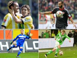 Fakten und Zahlen: Derby im Pott, Top-Duell in Bremen