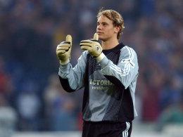 Manuel Neuer 2006 auf Schalke