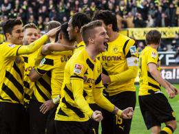Jubeltraube: Der Aufschwung der Dortmunder Borussen lässt sich gut an Marco Reus festmachen.