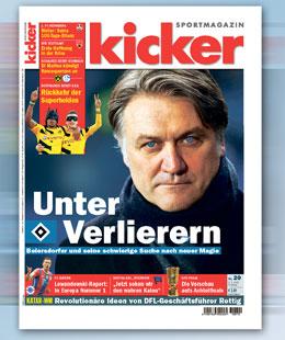 kicker-Sportmagazin, Ausgabe 20/15