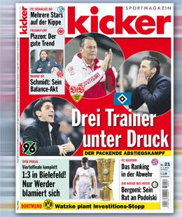 kicker, Ausgabe 21/15