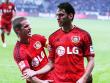 Getrennt: Leverkusens Lars Bender (li.) fehlt am Sonntag, Hakan Calhanoglu soll dagegen in Paderborn wieder f�r Gefahr sorgen.