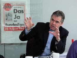 """Alle Bundesliga-Spiele samstags um 15.30 Uhr? """"Das wäre nicht möglich"""", erklärt Andreas Rettig."""