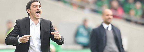 Erwartet seine Mannschaft auf Augenhöhe mit Gladbach: 96-Coach Tayfun Korkut.