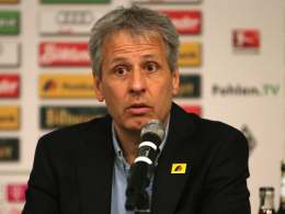Mönchengladbachs Coach Lucien Favre