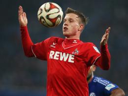 Reicht's sogar in dieser Saison noch f�r ein Comeback? K�lns Youngster Yannick Gerhardt ist wieder auf dem Platz.
