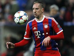 Geht Guardiola mit Ribery ins Risiko?