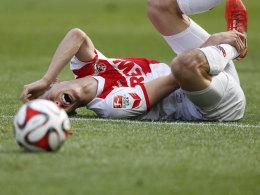 Pawel Olkowski beim 3:2 gegen Hoffenheim