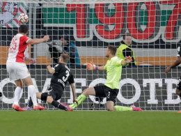 Matchwinner für Augsburg: Bobadilla.