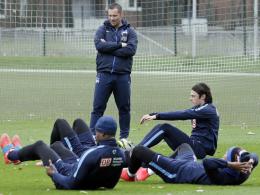 Hat sein Team hart trainieren lassen: Hertha-BSC-Trainer Pal Dardai.