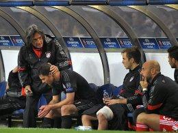 Vergangenheit: Dr. Müller-Wohlfahrt (li.) wird sich künftig nicht mehr um die FCB-Profis kümmern.