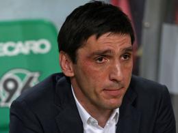 Seine Tage als Trainer bei Hannover 96 sind gezählt: Tayfun Korkut.