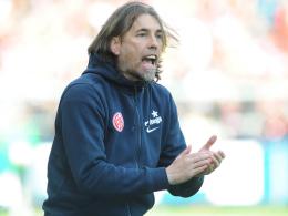 Kontrakt ausgedehnt: Mainz 05 hat Trainer Martin Schmidt bis 2018 gebunden.