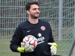 Muss sich in Mainz hinter Loris Karius anstellen: Torhüter Stefanos Kapino.