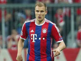 Verletzungspech hält an: Bayerns Holger Badstuber.
