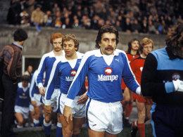 Bernd Gersdorff spielte von Dezember 1976 bis 1980 für Hertha BSC.