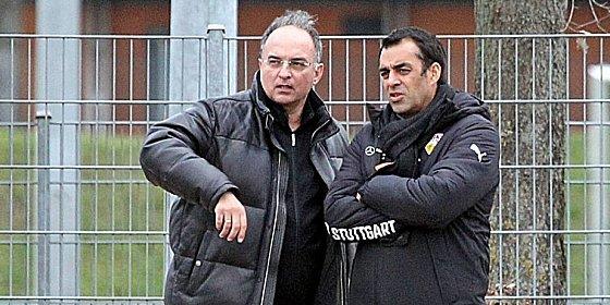 Redebedarf: Aufsichtsrat Hansi M�ller und Sportvorstand Robin Dutt.
