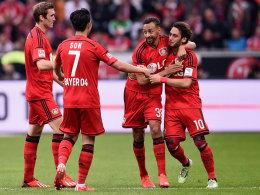 Wegbereiter Calhanoglu, der per Freistoß gegen Bayern zum 1:0 traf.