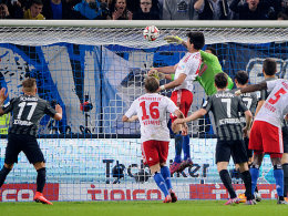 Hamburgs Punktretter: Gojko Kacar trifft zum 1:1.