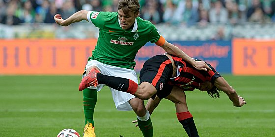 Werder-Kapit�n Clemens Fritz