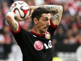 Mit breiter Brust nach Mönchengladbach: Leverkusens Rechtsverteidiger Roberto Hilbert.