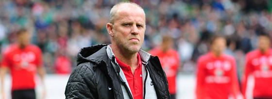 Äußerte sich nicht zum seinem Verhältnis zum Team: Trainer Thomas Schaaf.