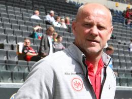 Frankfurts Coach Thomas Schaaf